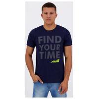 Camiseta Avia Your Time Marinho