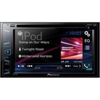 """Dvd Player Automotivo Pioneer Avh-288Bt Com Tela De 6,2"""", Bluetooth, Entradas Usb E Auxiliar, Equalizador Gráfico E Interface Para Ipod/Iphone"""