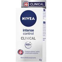 Desodorante Nivea Intense Control Clinical Feminino 48G