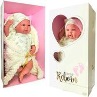 Boneca Bebê Reborn Bege - Novabrink