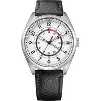 Relógio Tommy Hilfiger Masculino Couro Preto - 1791373