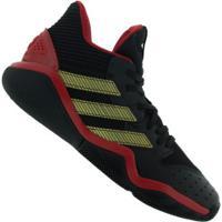 Tênis Adidas Harden Stepback - Masculino - Preto/Vermelho