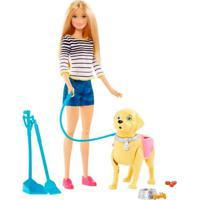 Barbie Família Passeio Com Cachorrinho - Mattel - Kanui