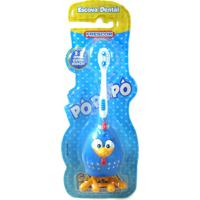 Escova Dental Infantil 3D Sanifil Galinha Pintadinha Ref: Gp3D0600