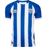 Camisa Do Avaí I 2020 Umbro - Masculina - Azul/Branco