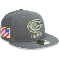 Netshoes  Boné Green Bay Packers 5950 Salute To Service 17 Fechado - New Era  - Unissex e8be8ffe29a
