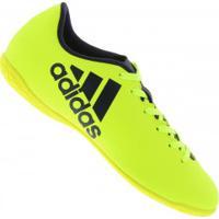 957dc04838 Chuteira Futsal Adidas X 17.4 In - Adulto - Amarelo