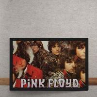 Quadro Decorativo Pink Floyd Vintage 25X35