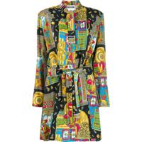 Moschino Fantasy Print Short Dress - Preto