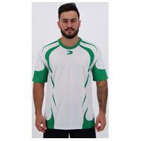 Camisa Placar Carijó Branca E Verde