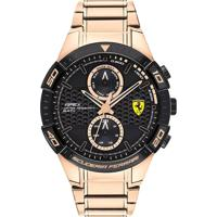 Relógio Scuderia Ferrari Masculino Aço Rosé - 830640