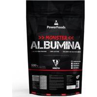 Monster Albumina Powerfoods 500G - Unissex-Chocolate
