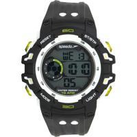 Relógio Speedo 80614G0Evnp2 Preto/Branco
