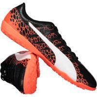 Netshoes  Chuteira Puma Evopower Vigor 4 Tt Society Masculina - Masculino f231df51422ec