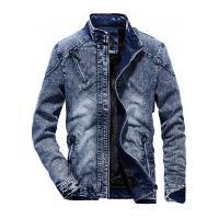 Jaqueta Jeans Masculina Mansfield - Azul