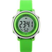 Relógio Infantil Skmei Digital Masculino - Masculino-Verde
