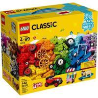Lego Classic - Engrenagens E Rodas - Peças - Unissex-Incolor
