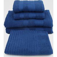 Jogo De Banho Buddemeyer 5Pçs Lisse Azul