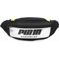Pochete Puma Prime Street Waistbag Feminina - Feminino-Preto+Amarelo