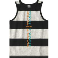 Camiseta Regata Tigor T. Tigre Cinza