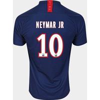 Camisa Paris Saint-Germain Home 19/20 Neymar Jr Nº 10 Torcedor Nike Masculina - Masculino
