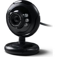 Webcam Multilaser 16Mp Nightvision Microfone Usb Preto