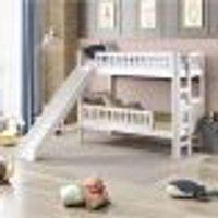 Beliche Infantil Mission Com Escorregador E 2 Grades Branco - Casatema