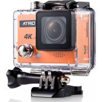 Câmera De Ação Atrio Full Sport Cam 4K Dc185 Laranja