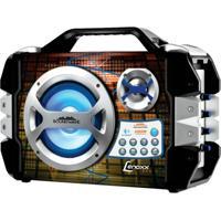 Caixa De Som Amplificada Sound Wave Lenoxx Bateria Interna