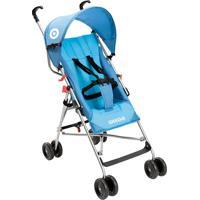 Carrinho De Bebê Guarda-Chuva Weego Way Bb507 Rodas Duplas Azul