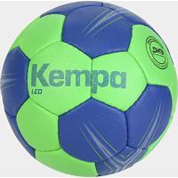 Bola De Handebol Kempa Oficial Leo - Unissex-Verde+Azul