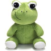 Bicho De Pelúcia Unik Toys 25 Cm Sapo Verde - Kanui