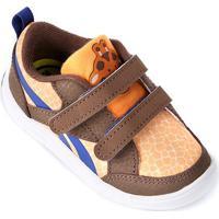 Tênis Infantil Reebok Vflex Critter Feet - Feminino-Laranja