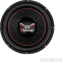 """Subwoofer - Bomber - Bicho Papão 4 Ohms - 12"""" Polegadas 600W - Bobina Simples - Cada (Unidade) - 1.23.060"""