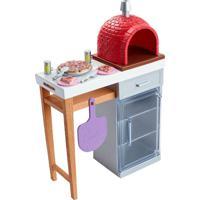Barbie Móveis Básicos Pizzaria - Mattel - Tricae