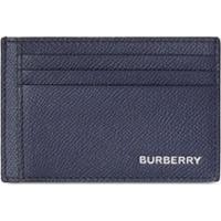 Burberry Porta-Cartões De Couro Granulado - Azul