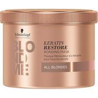 Máscara De Tratamento Schwarzkopf Professional Blond Me Keratin Restore 500Ml - Unissex-Incolor
