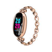 Smartwatch E68 Bracelete Feminino - Dourado