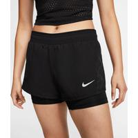Shorts Nike 10K 2-In-1 Feminino