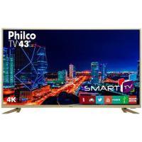 """Tv Philco 43"""" Led 4K Ptv43F61Dswnc Bivolt"""