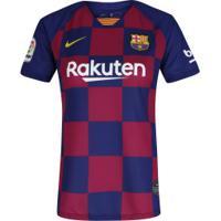Camisa Barcelona I 2019 Nike - Feminina - Azul Escuro