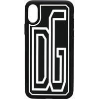 Dolce & Gabbana Capa Para Iphone X Com Logo - Preto