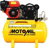 Compressor De Ar À Gasolina 5.5Hp Cmv-10Pl/100G Motomil
