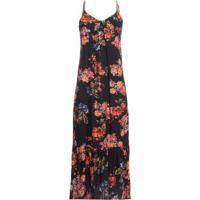 Vestido Buque Floral Fyi - Preto
