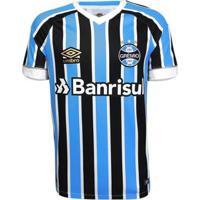 Camisa Umbro Masculina Grêmio Oficial I 2018 Game - Masculino