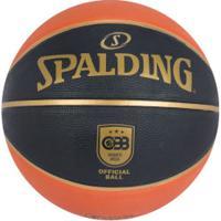 Bola De Basquete Spalding Tf-150 Cbb 7 - Laranja/Preto
