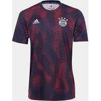 Camisa Bayern De Munique Pré-Jogo 19/20 Adidas Masculina - Masculino