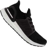 Tênis Adidas Ultraboost 19 - Masculino - Preto/Branco