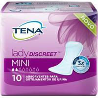 Absorvente Tena Lady Discreet Mini 10 Unidades