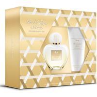 Kit Perfume Antonio Banderas Her Gonden Secret Feminino Eau De Toilette + Loção Corporal